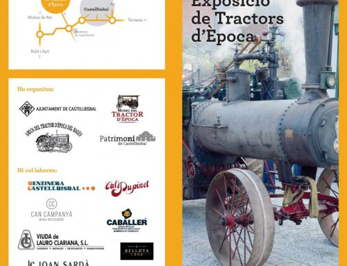 20th Exhibition of vintage tractors in Castellbisbal – 08/21/2016