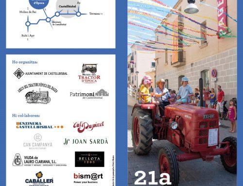 21ª Exposición de tractores de época en Castellbisbal – 20/08/2017