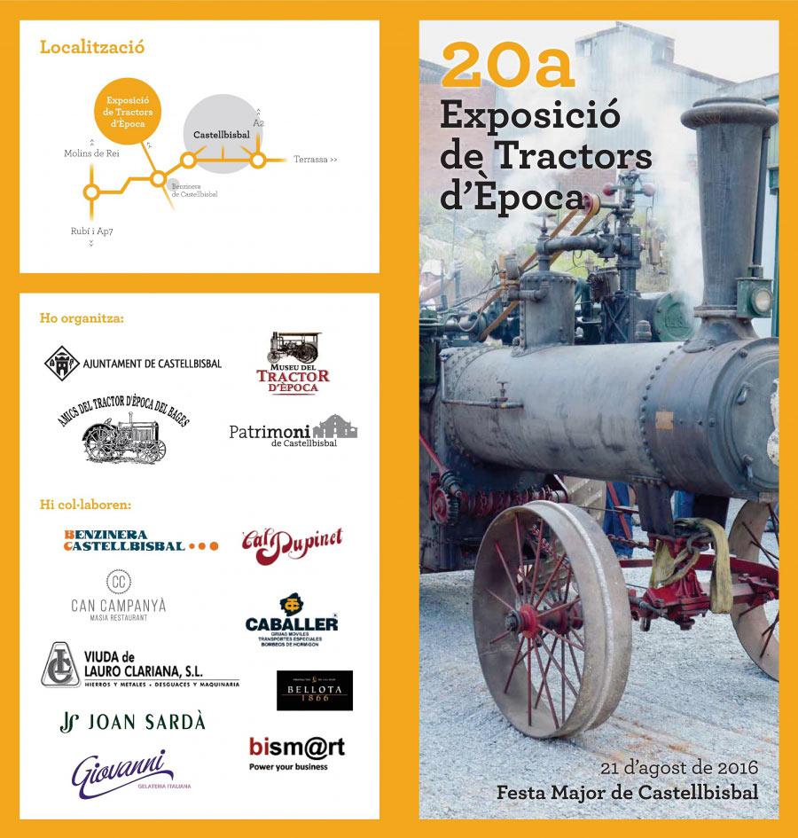 20a Exposició de tractors d'Època a Castellbisbal – 2016